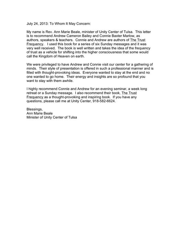Unity of Tulsa LetterJPG